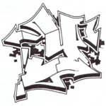 como hacer un graffiti...