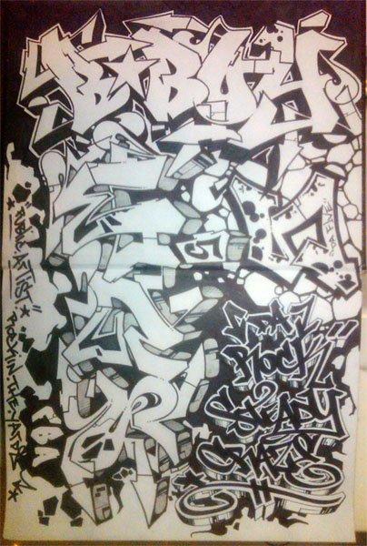 Bboy Graffiti Graffiti Blackbook Bboy